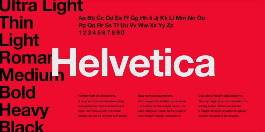 helvetica font imagina news