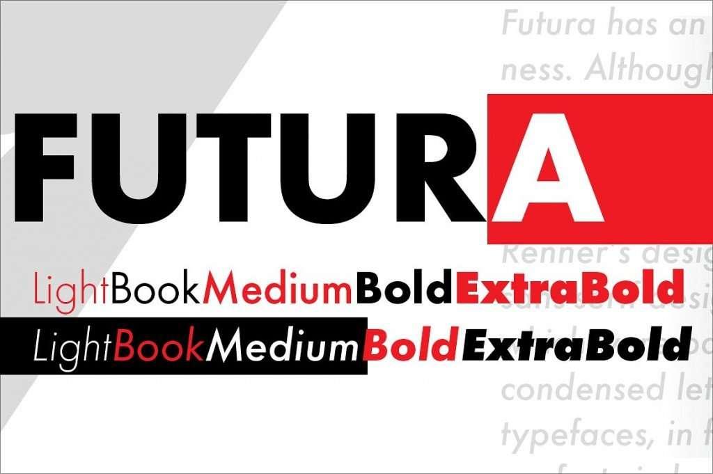 futura news imagina font