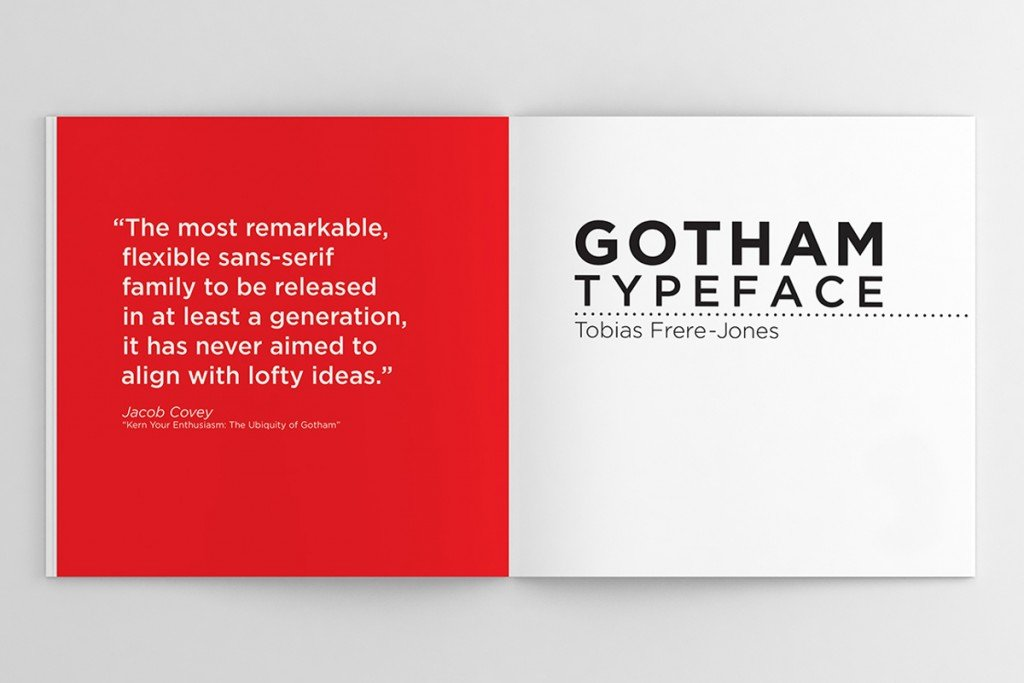 gotham font studio imagina news