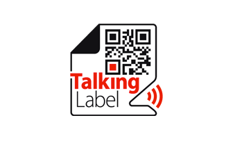 talking label