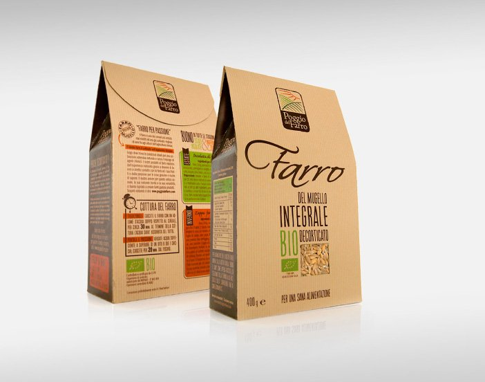 poggio del farro packaging