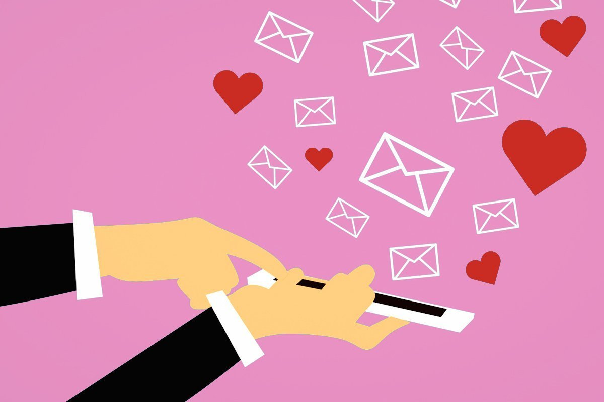 email marketing valentine