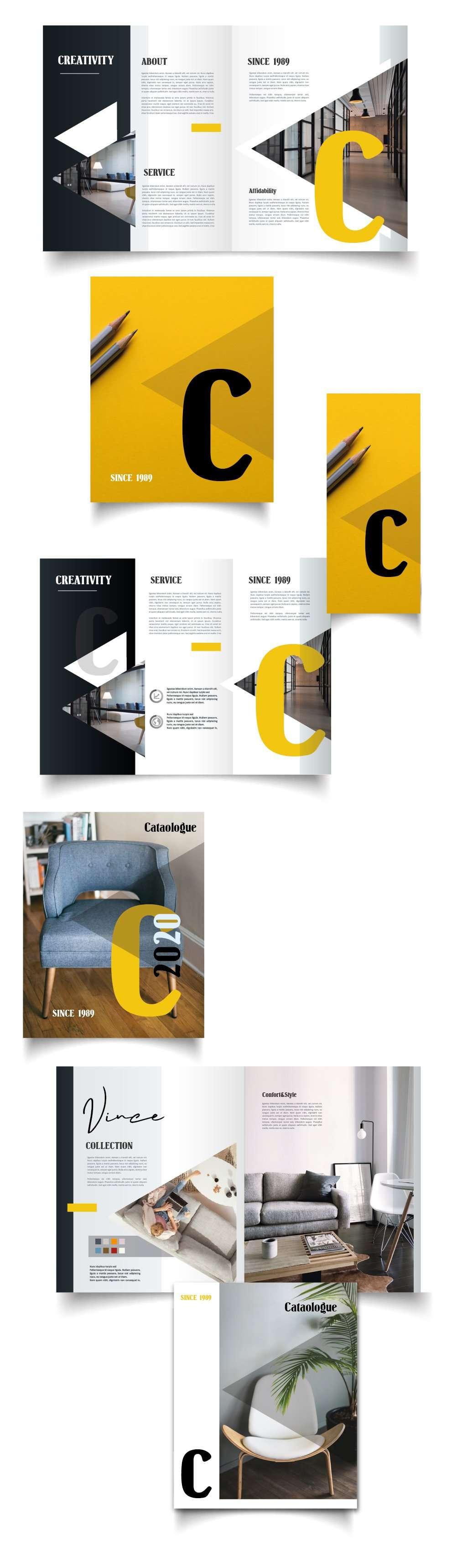 brochure depliant cataloghi